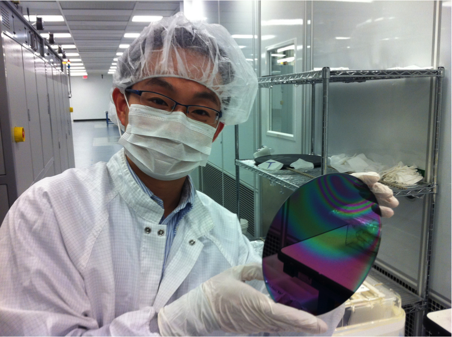 8_inch_silicon_wafer_with_GaN_Layer